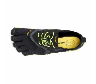 Vibram FiveFingers V-Run noir / jaune Homme 16M3101