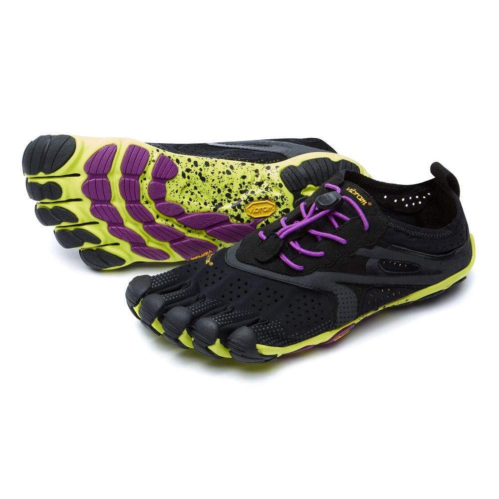 FiveFingers Bikila EVO 2 - V-Run noir / violet Femme 16W3105