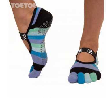 Chaussettes antidérapantes ToeToe OM
