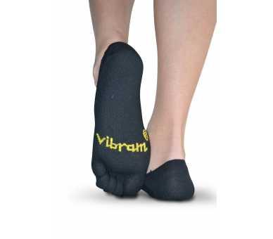 Vibram Ghost - Chaussettes invisibles à 5 doigts noir