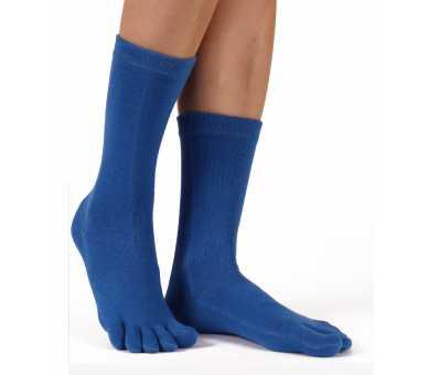 Chaussettes à 5 doigts bleu