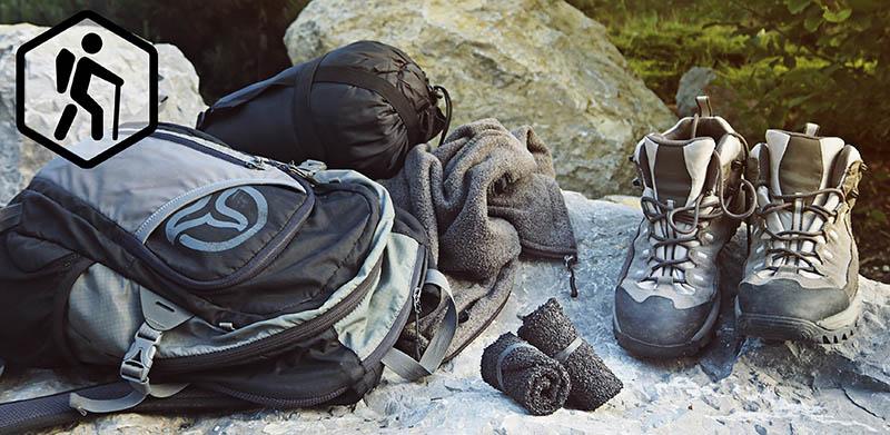 Skinners pour la camping et la randonnée