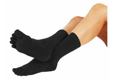 Lots de 3 chaussettes noires ToeToe