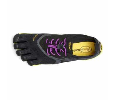 FiveFingers V-Run noir / violet Femme 16W3105