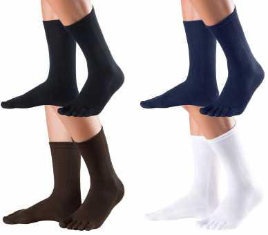 Chaussettes à 5 doigts en coton pour le quotidien KNITIDO