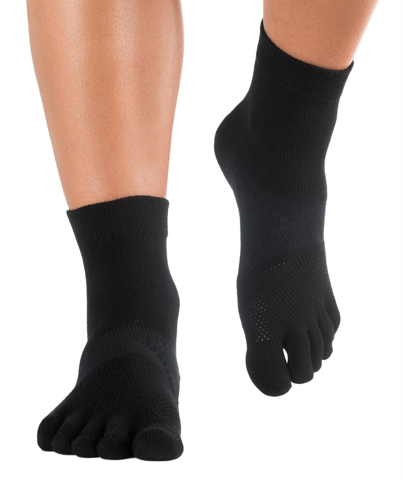 knitido chaussettes techniques à orteils pour les coureurs