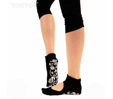 Chaussettes antidérapantes à 5 doigts Toetoe Serene