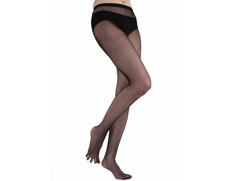 Collants résilles à 5 doigts - ToeToe Fishnet Toe Tights