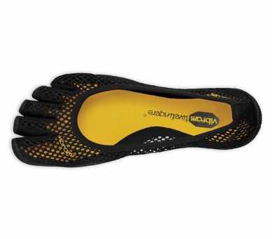 Vibram FiveFingers VI-B Femme Noir W2703 - chaussures minimalistes à 5 doigts