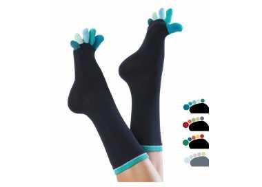 Chaussettes à doigts colorés KNITIDO