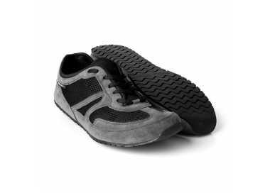 MSChaussure minimaliste Vegan Receptor Explorer Magical Shoes Grise homme et femme