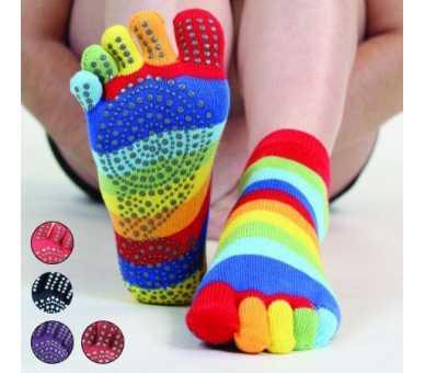 Socquettes antidérapantes à 5 doigts
