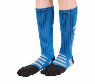 Chaussettes hautes à 5 doigts pour la marche