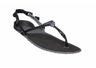 Sandales minimalistes Cloud noires de Xero Shoes pour homme