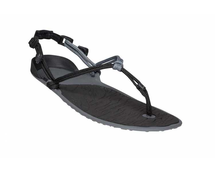 Sandales minimalistes Cloud noires de Xero Shoes pour femme