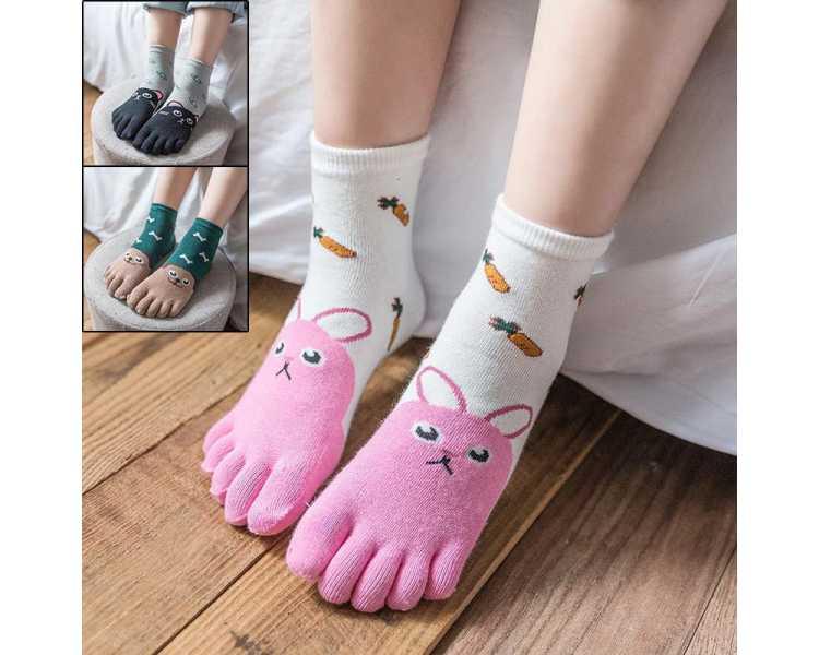 Chaussettes à cinq doigts pour enfant