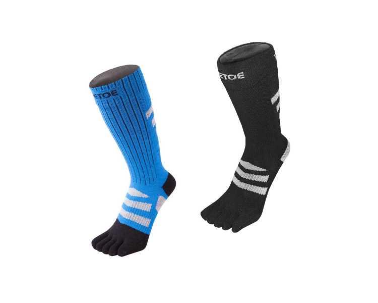 Chaussettes à 5 doigts pour la randonnée