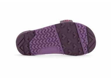 Semelle des sandales Z-Trail Xero Shoes femme magenta vu de dessous