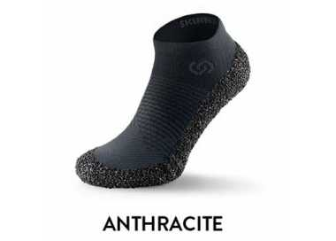 Skinners 2.0 grise anthracite mi-chaussure et mi-chaussette
