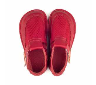 Barefoot shoes for kids BEBE red