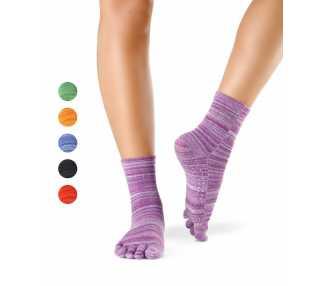 Chaussettes antidérapantes massantes  à 5 doigts KNITIDO