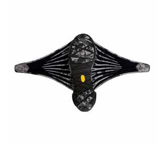 Chaussures Furoshiki EVO ouvertes noires pour homme