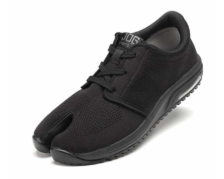 Chaussure japonaise jikatabi sports Jog MARUGO noire