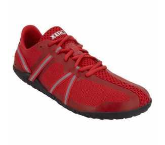 Chaussure minimaliste Speed Force rouge de la marque Xero Shoes pour femme
