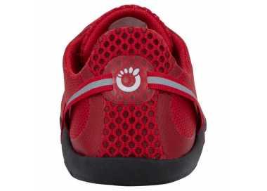 Chaussure minimaliste Speed Force Xero Shoes coloris rouge vu de derrière