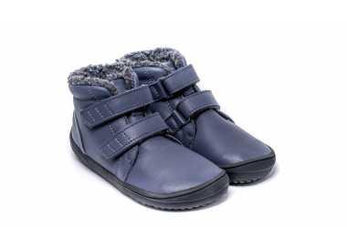 Chaussure minimaliste Be Lenka enfant modèle Penguin automne hiver couleur charcoal (gris)