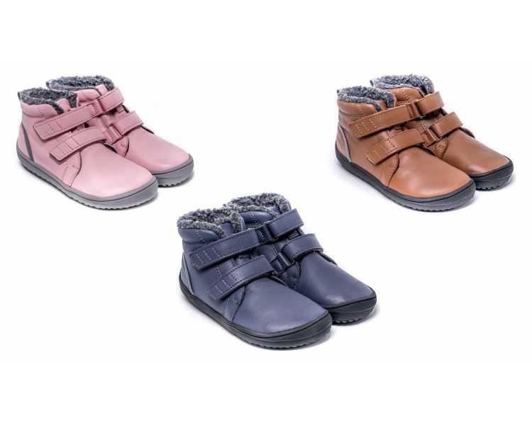 Chaussure minimaliste enfant automne hiver chaude Be Lenka modèle penguin