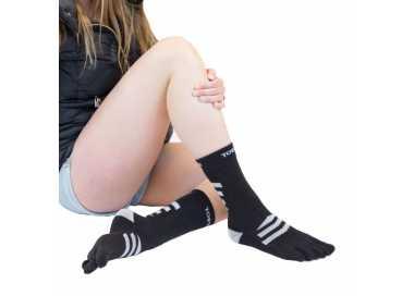 Chaussettes épaisses à 5 doigts ToeToe