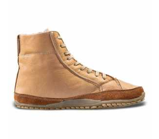 Alaskan Buffalo marron Magical Shoes chaussures hautes minimalistes hiver
