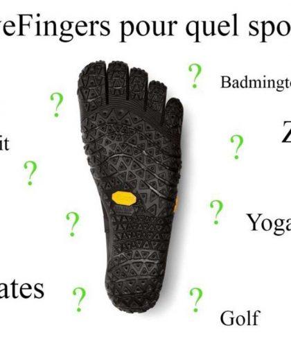 Choisir votre modèle de FiveFingers en fonction de votre sport