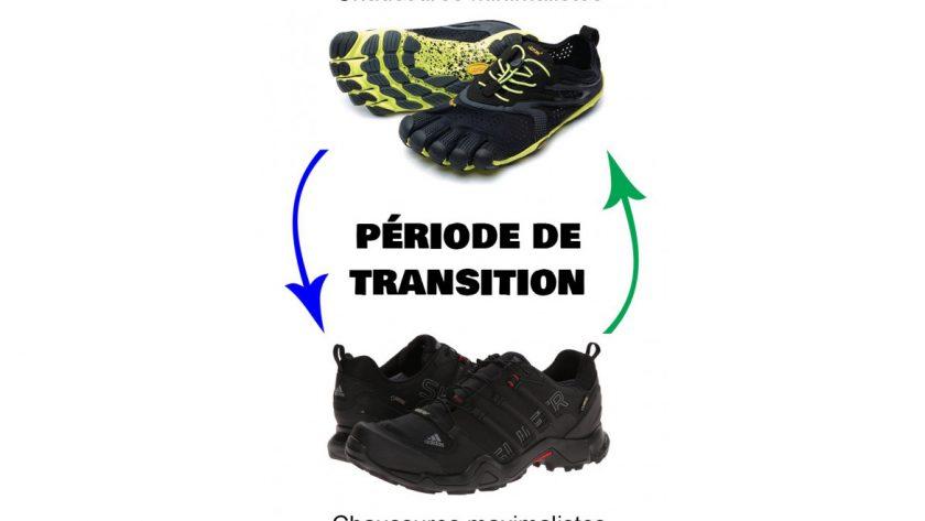 Programme de transition chaussure minimaliste