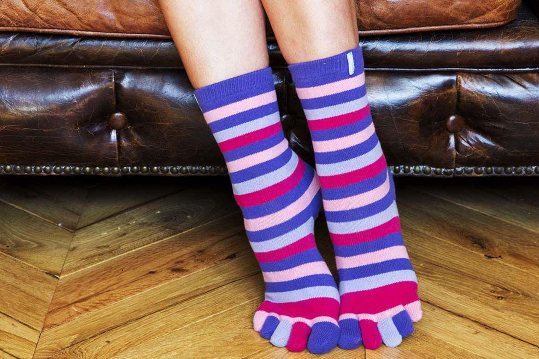 Les chaussettes à 5 doigts ToeToe