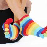 utilisation chaussette à doigts