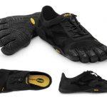 Aperçu d'une chaussure minimaliste Vibram FiveFingers pouvant réduire les problème de pied