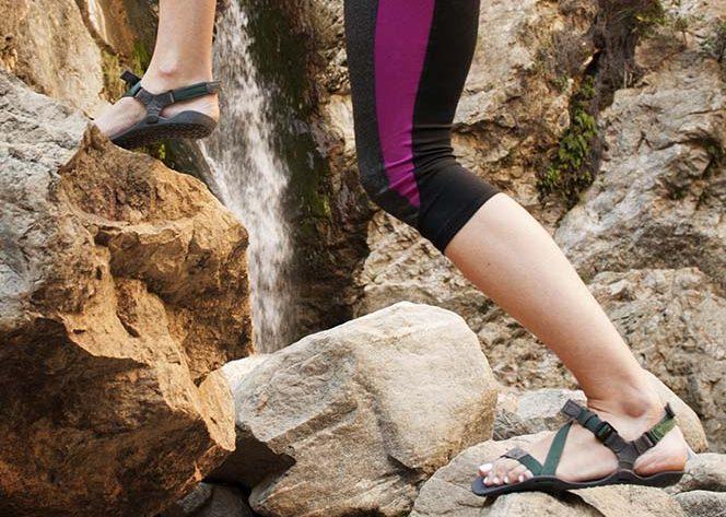 Sandales de type huaraches