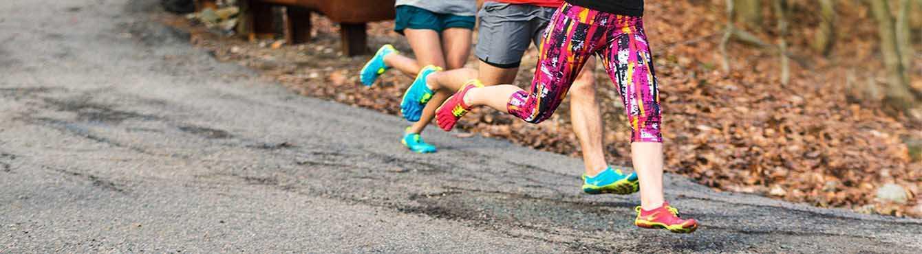Chaussures minimalistes Fivefingers pour la course, modèles hommes