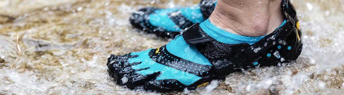 Fivefingers pour femme adéquate pour les sports aquatiques