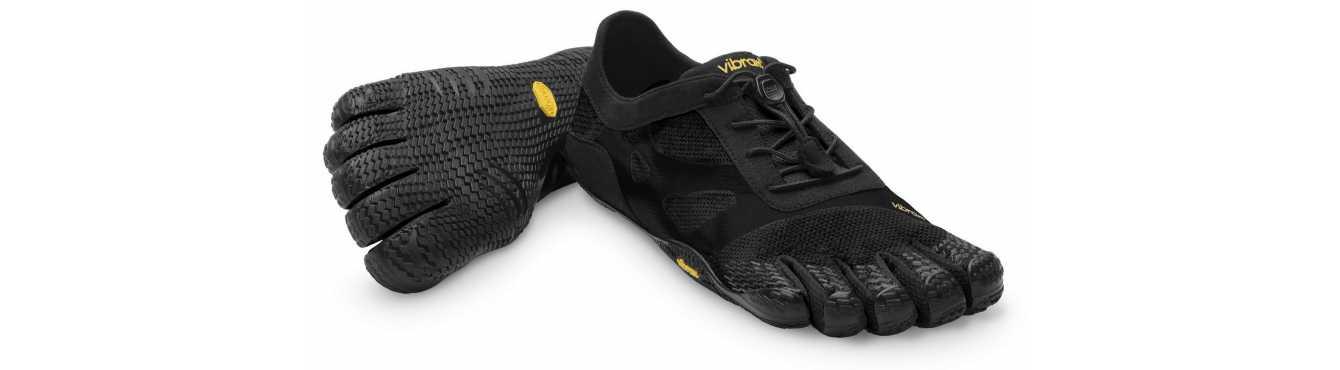 Vibram Fivefingers KSO EVO : Chaussures minimalistes à 5 doigts
