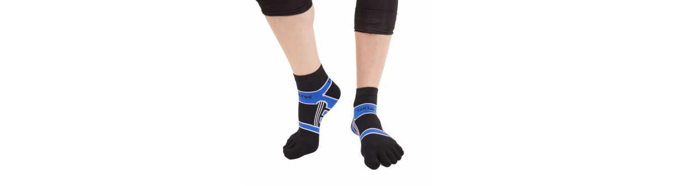Chaussettes à doigts TOETOE - une marque européenne
