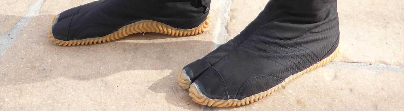 Jika Tabi : chaussures & chaussettes à orteil