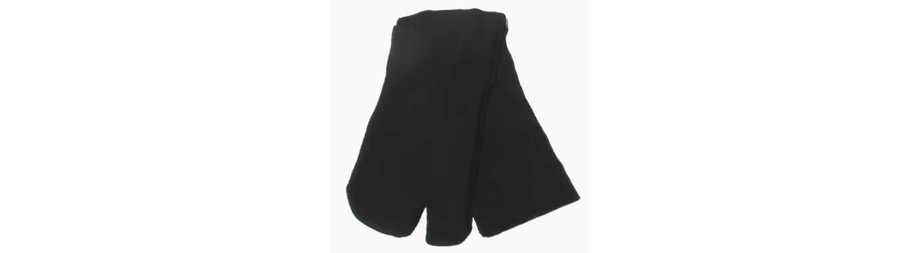 Chaussettes japonaises Tabi avec le gros orteil indépendant