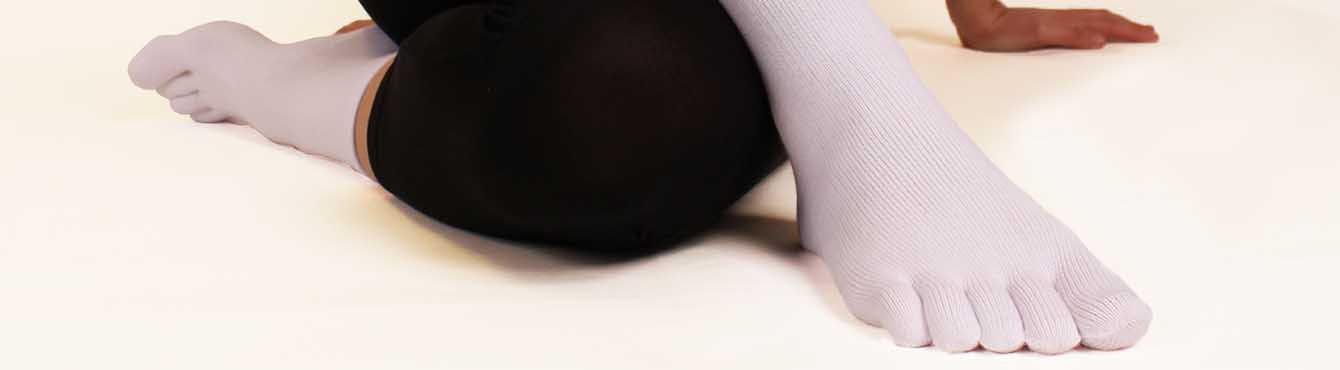 Chaussettes à doigt de pied & 5 orteils