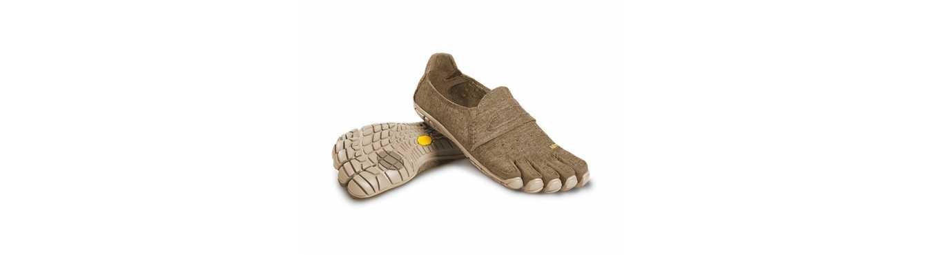 FiveFingers CVT Hemp et Wool : chaussures à 5 doigts pour le quotidien
