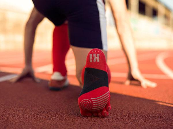 Chaussettes à doigts pour le sport
