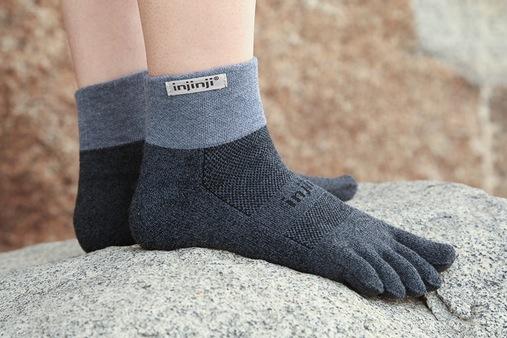 Chaussettes à 5 doigts Injinji Trail Mini-Crew