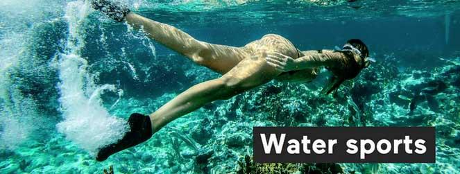 Nage et sports d'eau en skinners 2.0